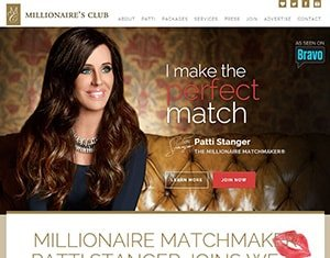 The millionaires club exclusive dating