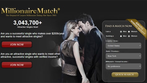 Top 5 millionaire dating sites