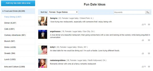 Fun Date Ideas of SugarDaddyMeet