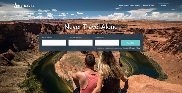 Miss Travel Homepage