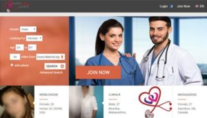 Physician dating website