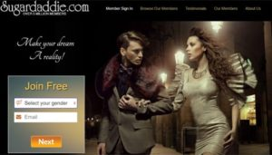 SugarDaddie Homepage
