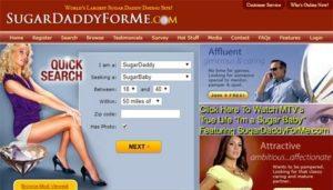 SugarDaddyForMe Homepage