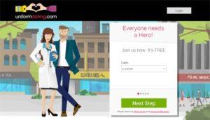 uniform dating free app