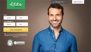 EliteSingles Homepage