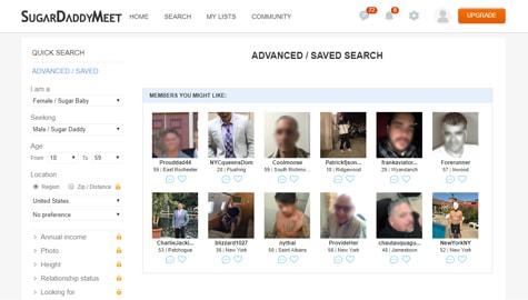 SugarDaddyMeet Search